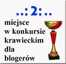 Konkurs 2 miejsce,dziękuję.!