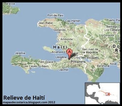 HAITI America  MAPAS DE