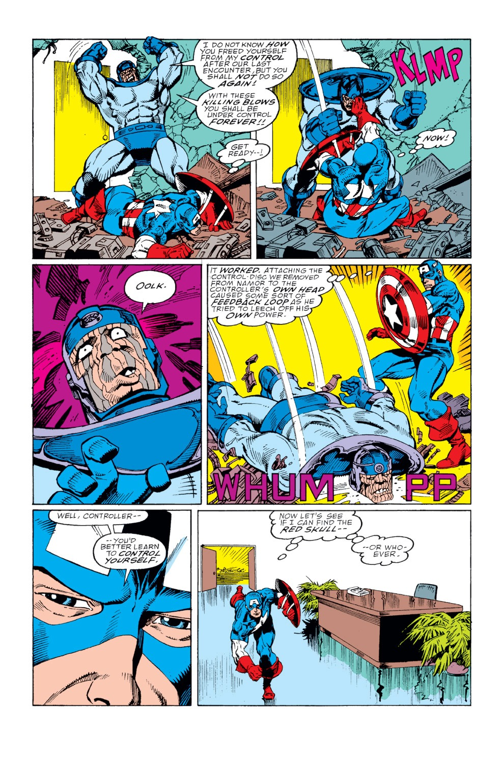Captain America (1968) Issue #367 #300 - English 14