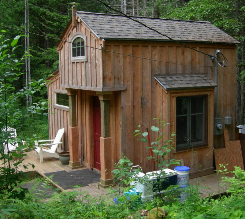 tiny home by kirk metson on vancouver island bc
