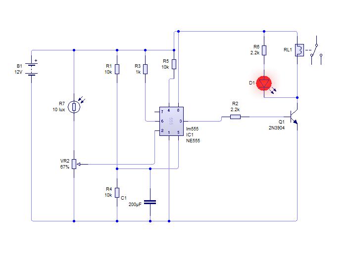 Circuito Ldr : Circuito detector de humo guillermo ascencio