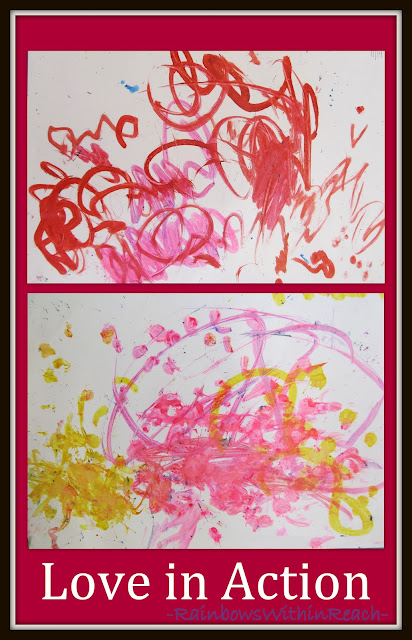 photo of: Finger Painting in Preschool: Fine Motor Leads to Fine Arts