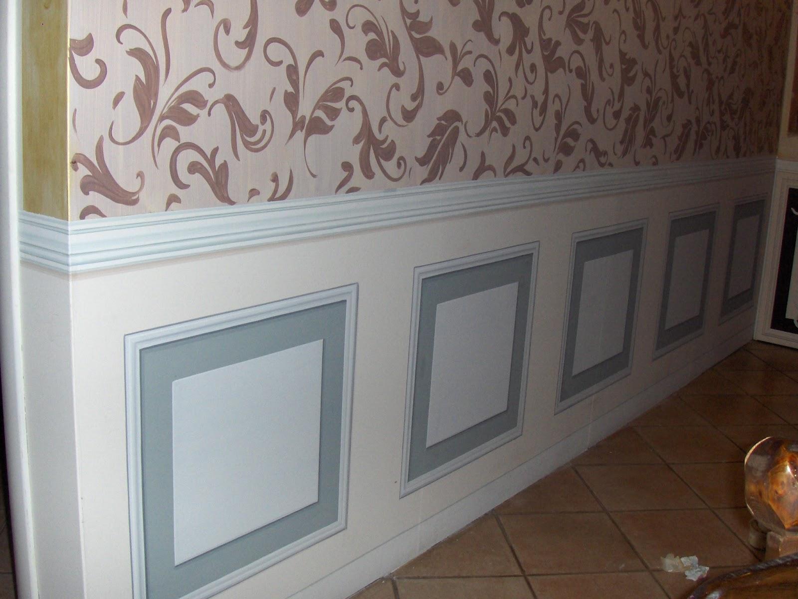 decora interni boiserie dipinta a trompe l 39 oeil