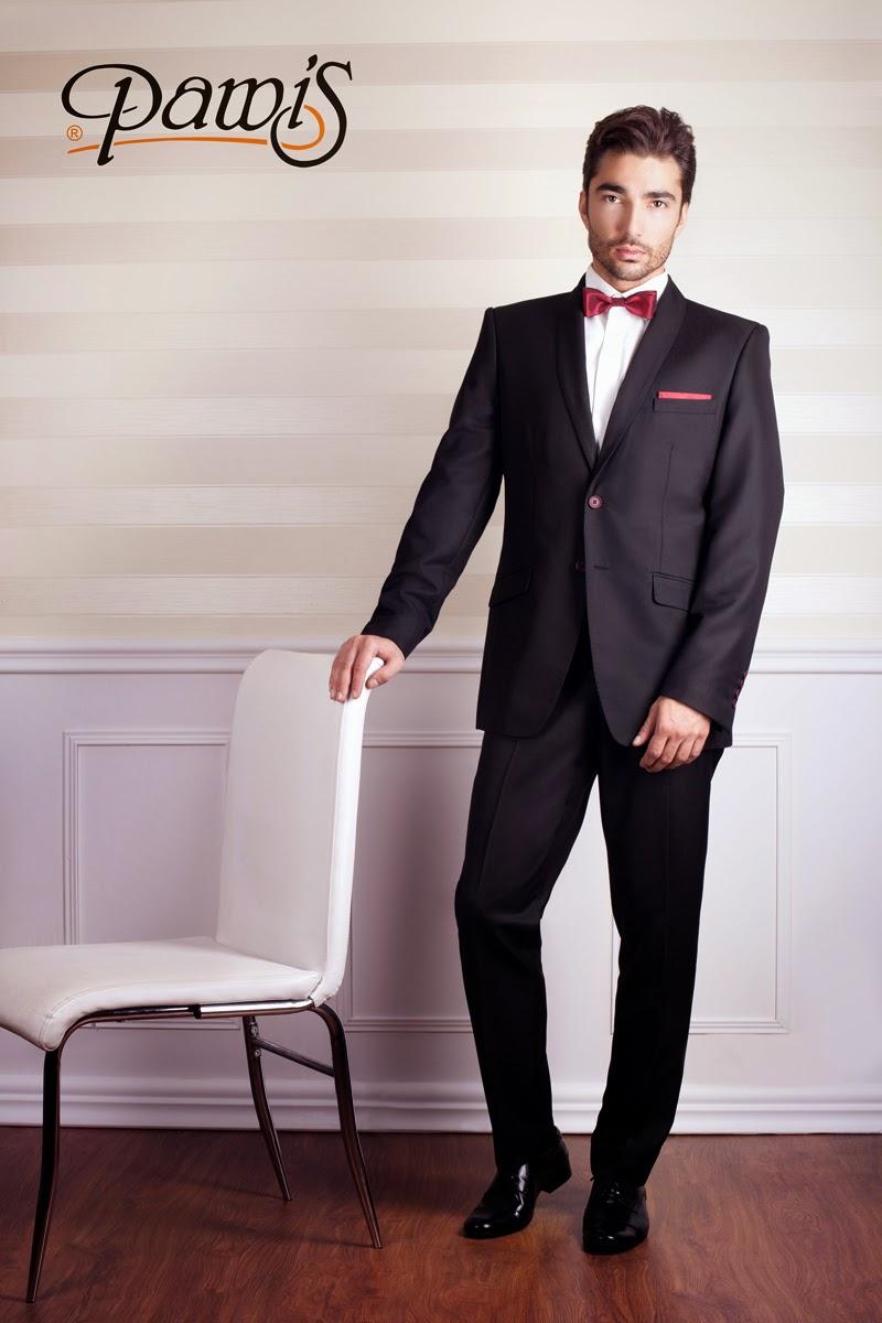 Jednorzędowy garnitur Pawis