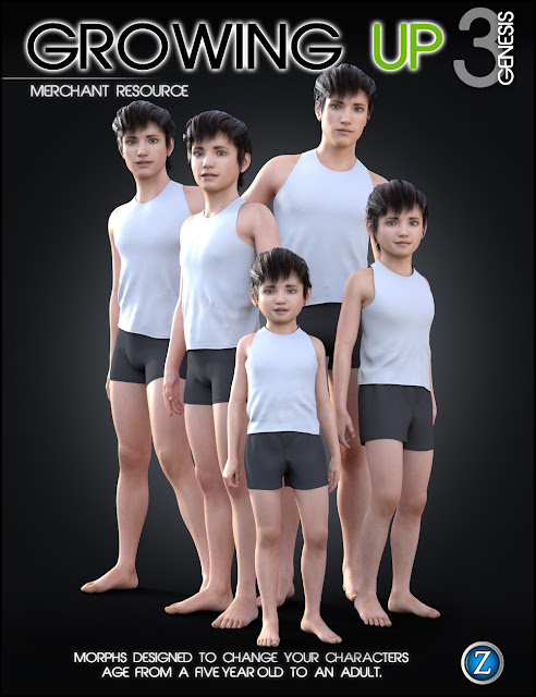 Growing Up for Genesis 3 Male