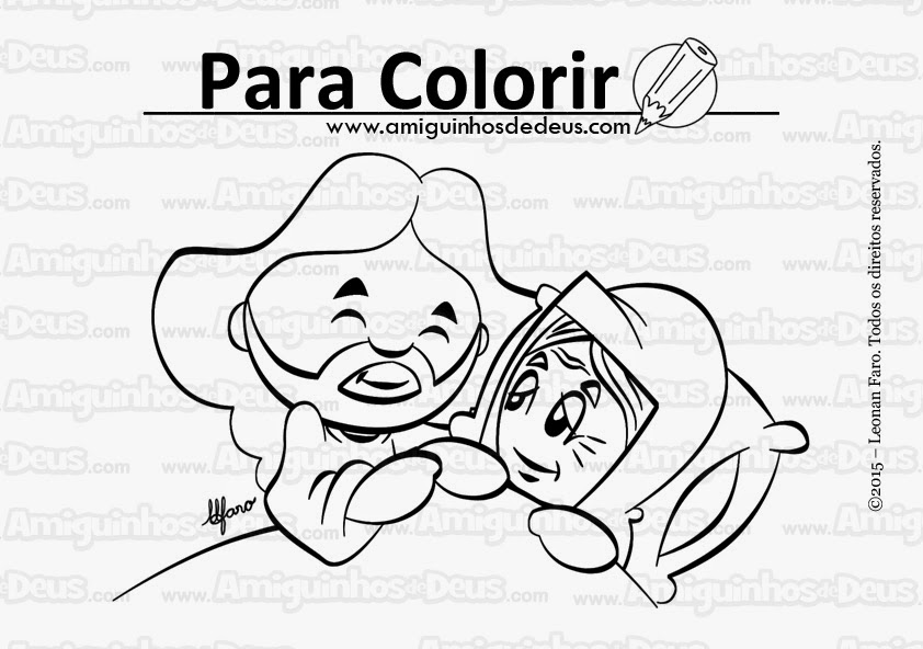 jesus cura a sogra de simão desenho para colorir