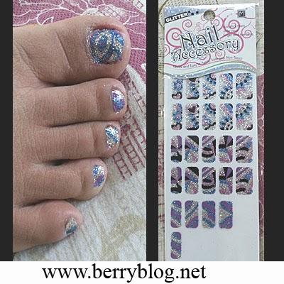 Nail Accessory Glitter Sticker