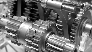 Gear Wheel Mechanism Steel Wallpaper