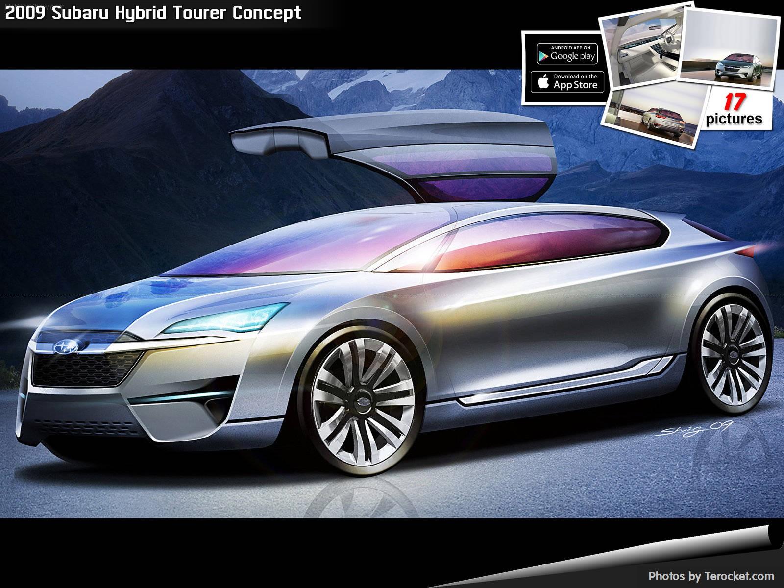 Hình ảnh xe ô tô Subaru Hybrid Tourer Concept 2009 & nội ngoại thất