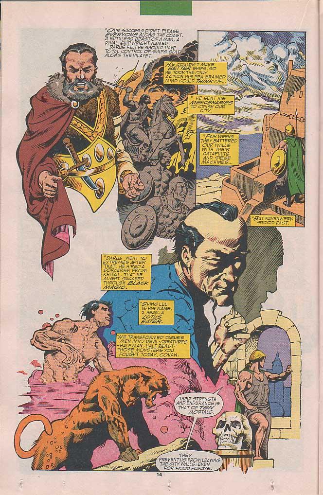 Conan the Barbarian (1970) Issue #251 #263 - English 11