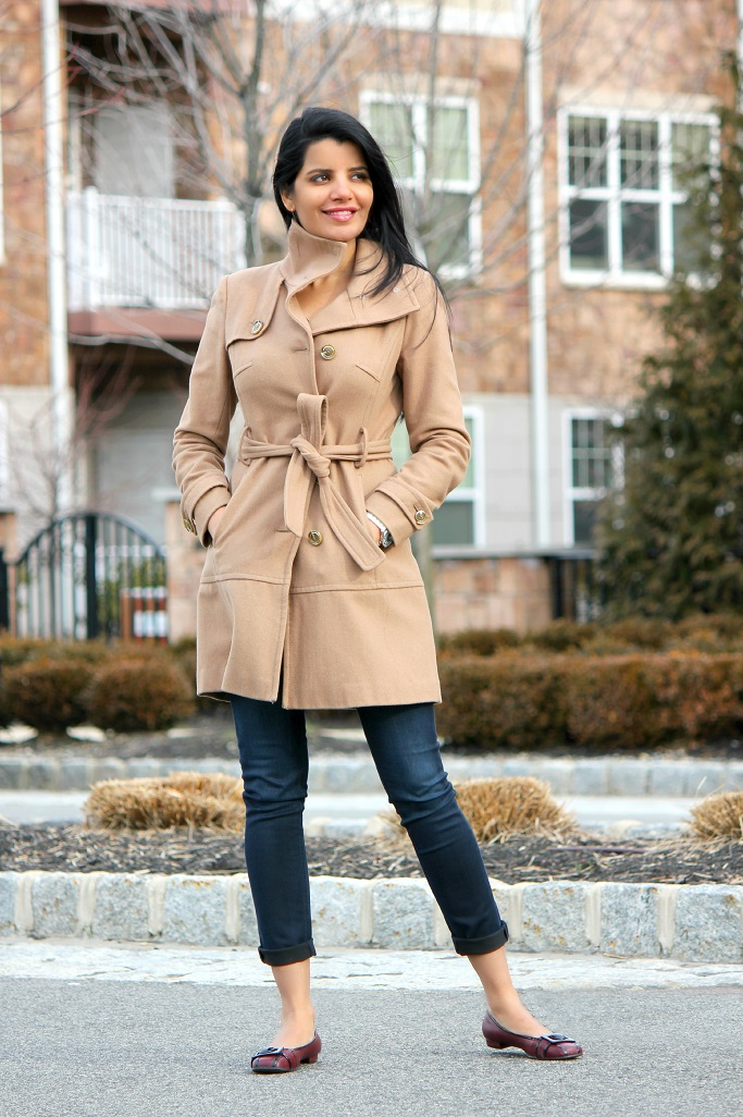 How To style a camel coat, Camel wool coat, Camel trench coat, Belted camel coat, Winter Camel Coat