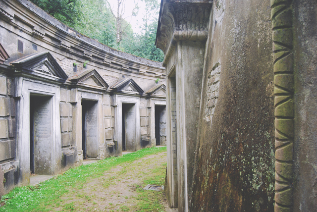 Victorian Cemetery at Highgate