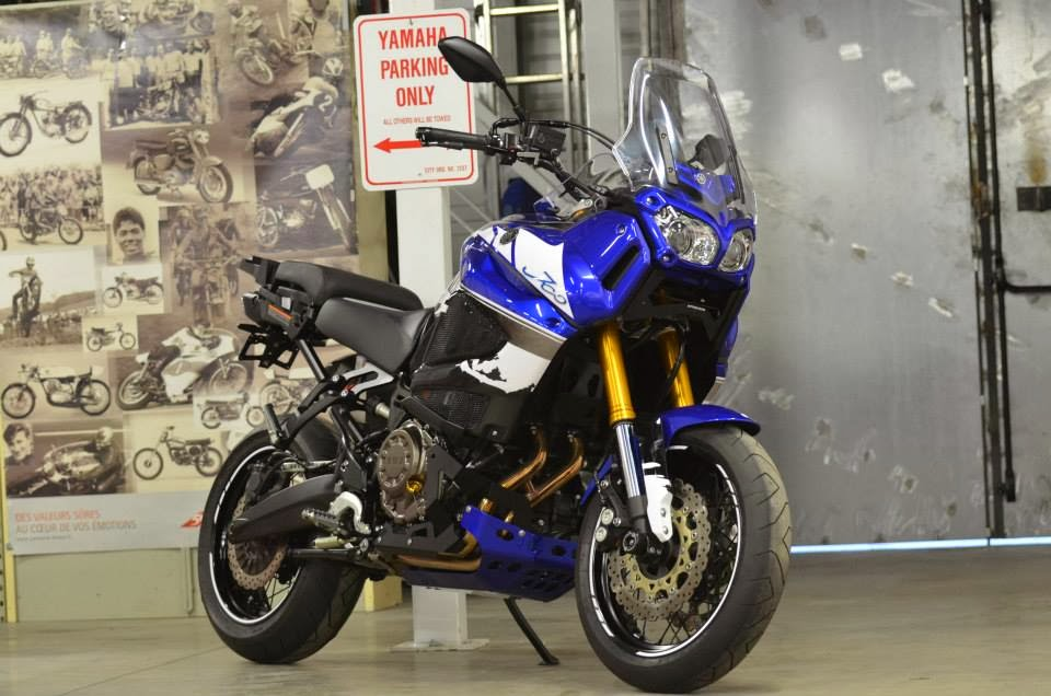 Racing Caf�: Yamaha XTZ 1200 Super...Motard by Liberty Yam