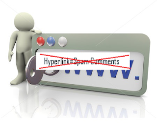Disable Hyperlink on Blogger Comment
