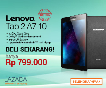 Review Lenovo Tab 2 A7-10 - 8 GB Indonesia