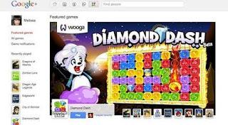 game di Google+
