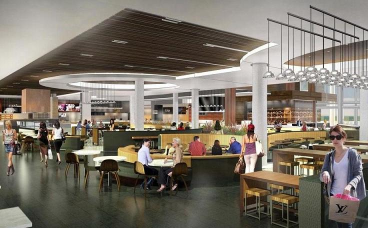 Food Court Level At Valley Fair Stores
