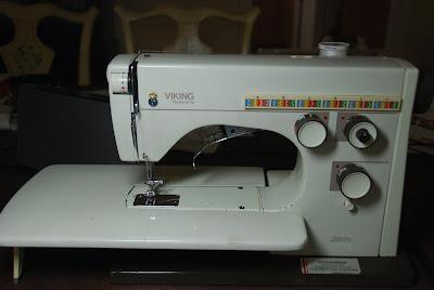 sewing machine, Husqvarna, 1974
