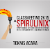 Peraturan Lomba Classmeeting 2K15 (SPIRULINIX)