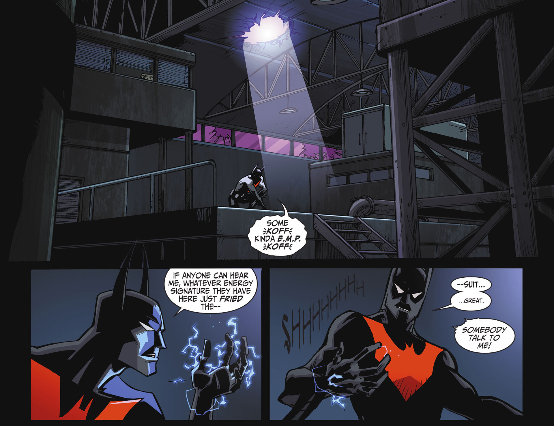 Batman Beyond 2.0 #18 #23 - English 11