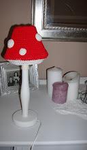 Flugsvamp-lampskärm