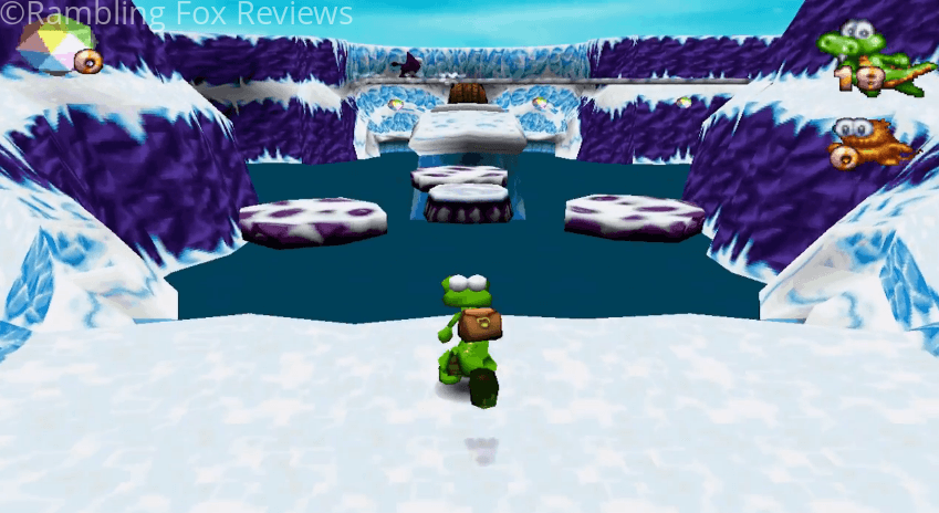 Croc Legend of the Gobbos ice world