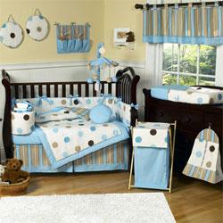Nursery crib bedding