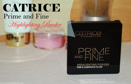 Catrice Prime and Fine Highlighting Powder