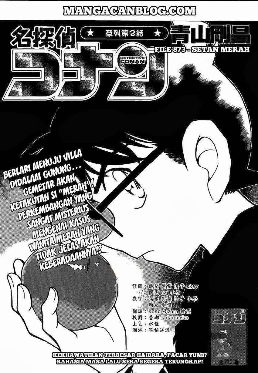 Dilarang COPAS - situs resmi www.mangacanblog.com - Komik detective conan 873 - setan merah 874 Indonesia detective conan 873 - setan merah Terbaru 1|Baca Manga Komik Indonesia|Mangacan
