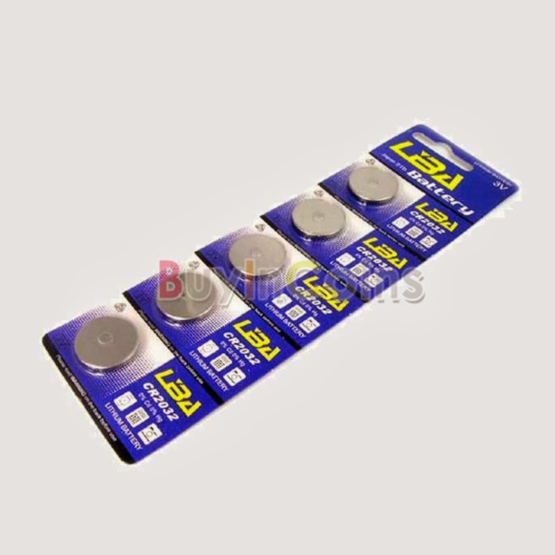 5/20 Pcs Li-ion 3V CR2032 cr2032 Button Cell Coin Battery