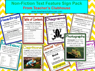 how to teach non-fiction, non-fiction unit, non-ficture terms, giveaway