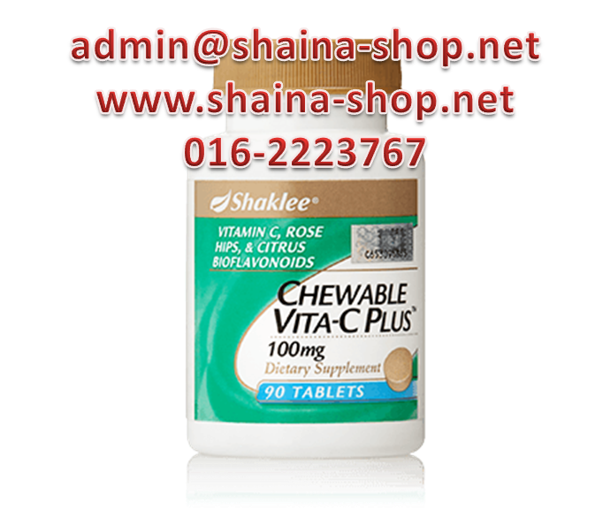 CHEWABLE VITA-C PLUS SHAKLEE
