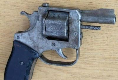 Curiosas armas de fogo caseiras