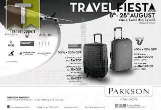 Travel Fiesta Parkson Pavilion Sale 2013