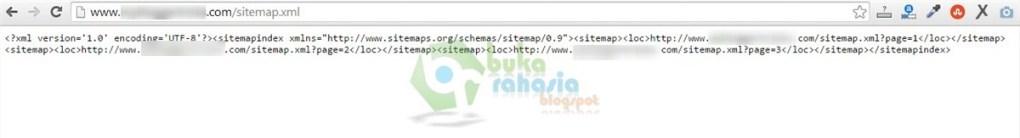 contoh sitemap xml blogger custom domain (TLD)