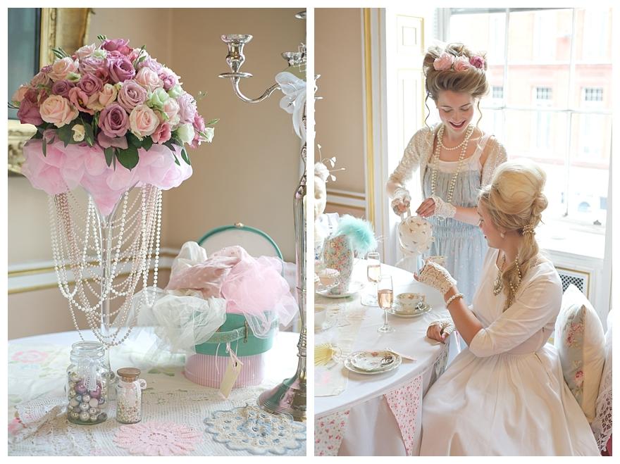 4005561ebd1 Marie Antoinette Wedding   Hen Party Inspiration Shoot
