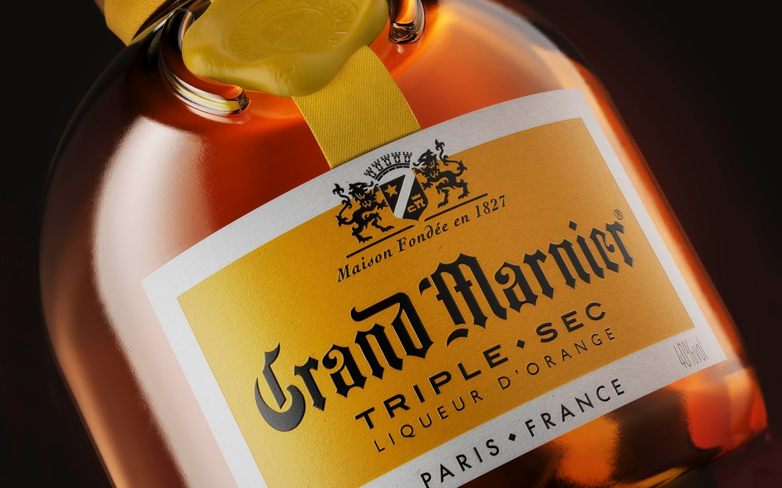 Grand marnier cordon jaune redesign on packaging of the for Grand marnier cordon jaune aldi