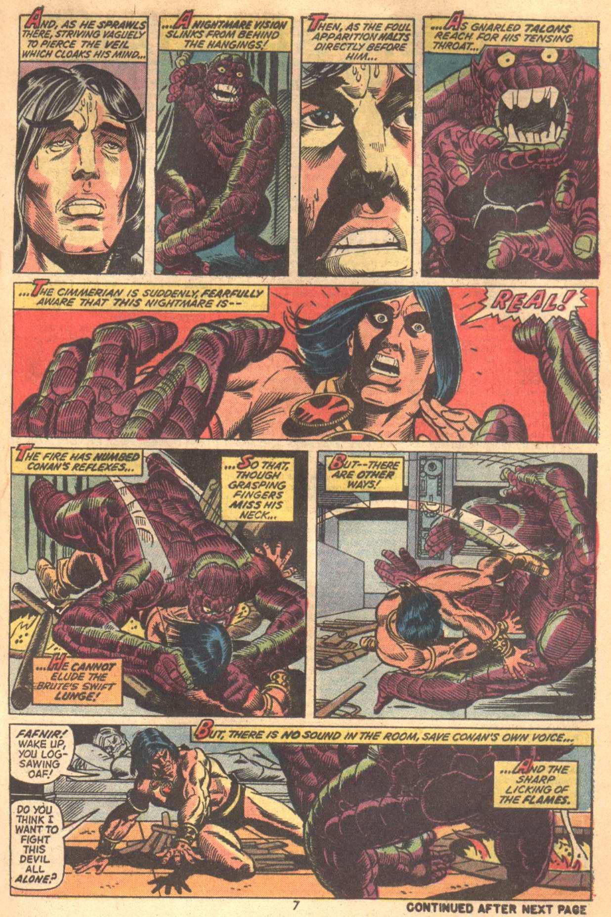 Conan the Barbarian (1970) Issue #18 #30 - English 7