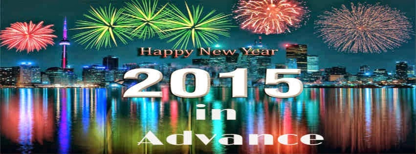 Advance Happy New Year 2015 HD Cards - Free Download