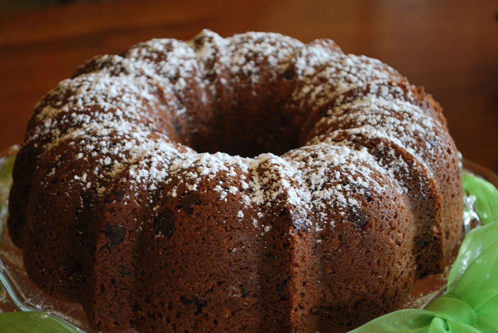 Chocolate Chip Pound Cake - Amanda Jane Brown
