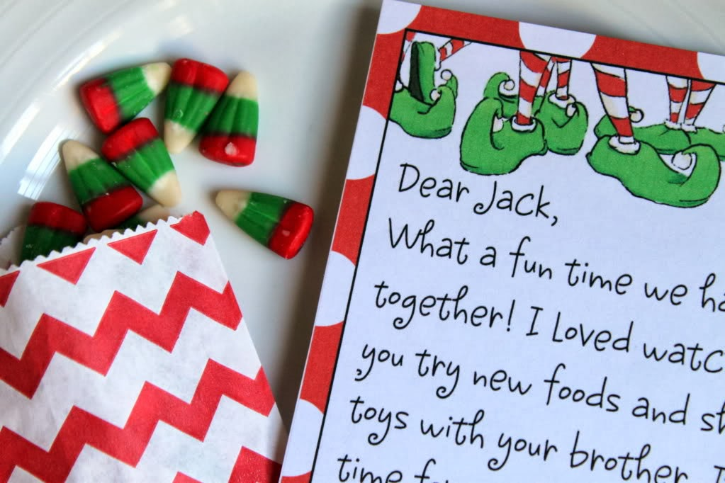 Free Editable Note for Elf on a Shelf from Crossing the Bugger-Dixon ...