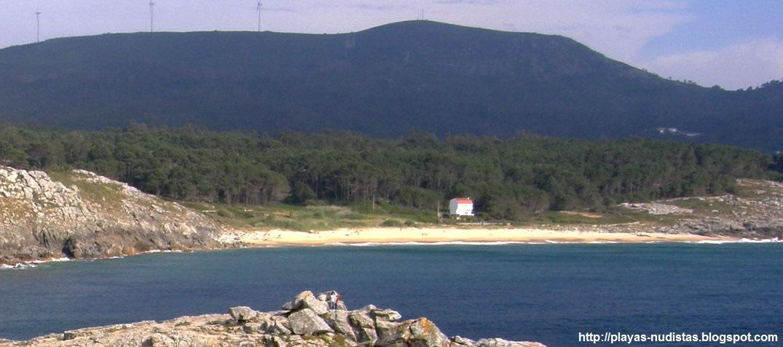 Playa nudista Baroña / Area Longa (Galicia, España)