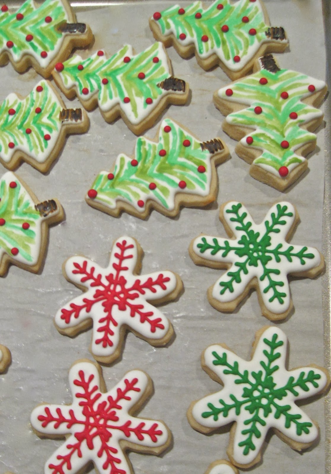 Christmas Cookies Round 2 The Aggie Cookie Company