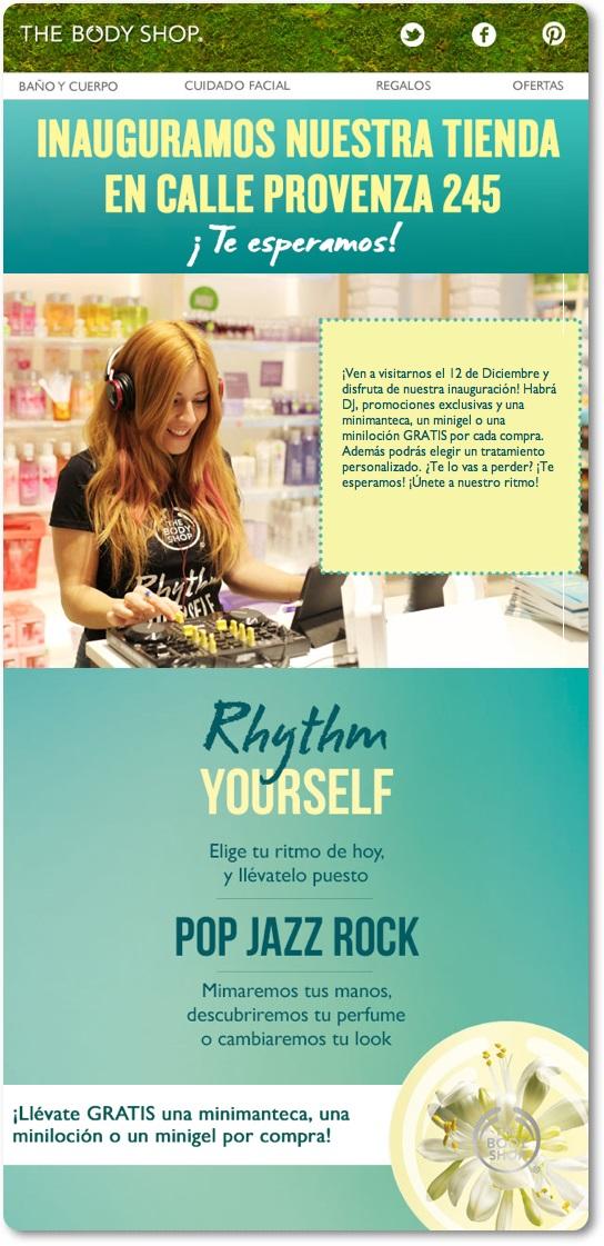 The Body Shop inaugura tienda en Barcelona - Provenza 245