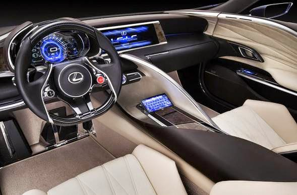2017 Lexus LF-LC Review And Release Date