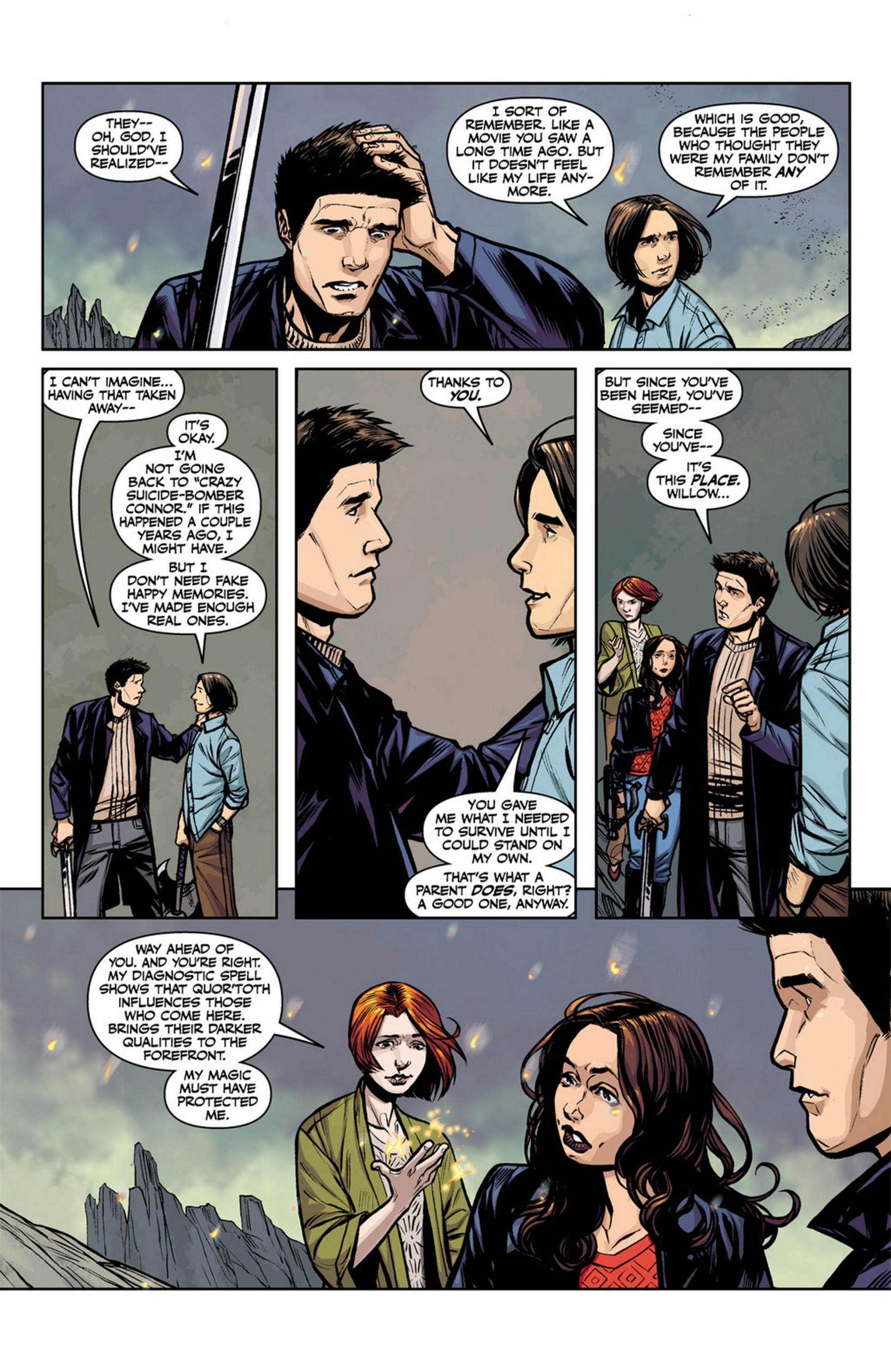 Read online Angel and Faith comic -  Issue #12 - 13