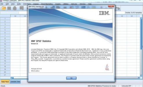 Download SPSS 22 Full Crack