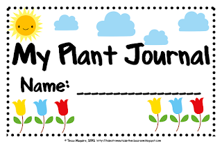 journal by tessa of tales from outside the classroom plant journal ...