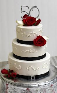 Amazing Grace Cakes 50th Anniversary