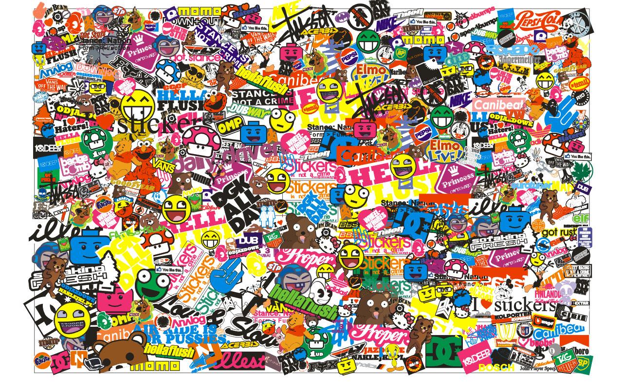 Omoshiroi Ya Car Sticker Bombing